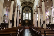 St. John's Church, where Taylor went for quiet and meditation.