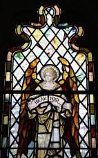Stained Glass window in St. John's Edinburgh.