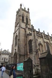 St. John's in Edinburgh, one of Taylor's hangouts.