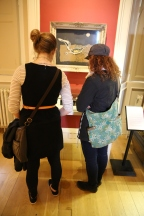 Wendy and Taylor at the Scottish National Gallery of Contemporary Art.