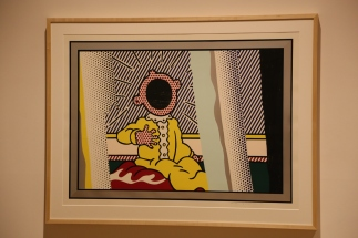 "Lichtenstein was inspired by Edvard Munch's ""The Scream"" when he did this."