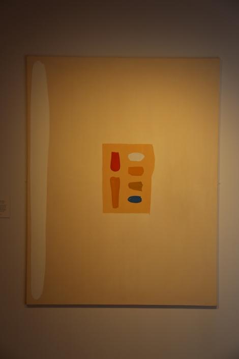 A painting in Edinburgh's City Art Centre.