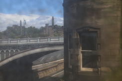 Photo of Edinburgh landscape I took out the window of the City Art Centre.