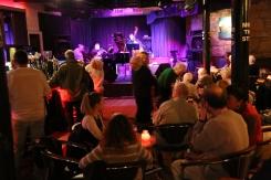 Interior of The Jazz Bar, Edinburgh.
