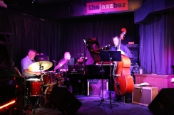 Jazz trio at The Jazz Bar, Edinburgh.