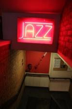 Entrance to The Jazz Bar, Edinburgh.