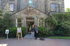 Inverleith House Art Gallery, where Taylor interned this year on the grounds of the Royal Botanic Gardens, Edinburgh.