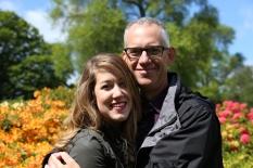 Tom and Taylor at Royal Botanic Gardens, Edinburgh.