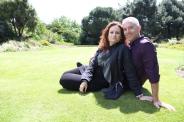 Tom and Wendy at Royal Botanic Gardens, Edinburgh.