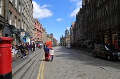The Royal Mile, Edinburgh.