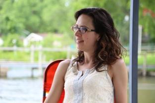 Becky at the Lake 2015