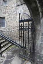 The entrance to Greyfriar's Cemetery.