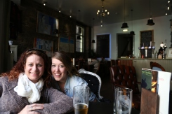 Lunch at Arcade Bar, Haggis, and Whiskey House.