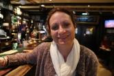 Wendy at White Hart pub.