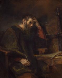 St. Paul by Rembrandt van Rijn