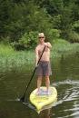 tom on paddleboard - 1