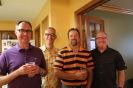 Hoover Husky Reunion: Dave Eick, moi, Doug Reeves, Mat Hill