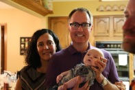 Dave & Maria Hidalgo-Eick with young Jimmy.