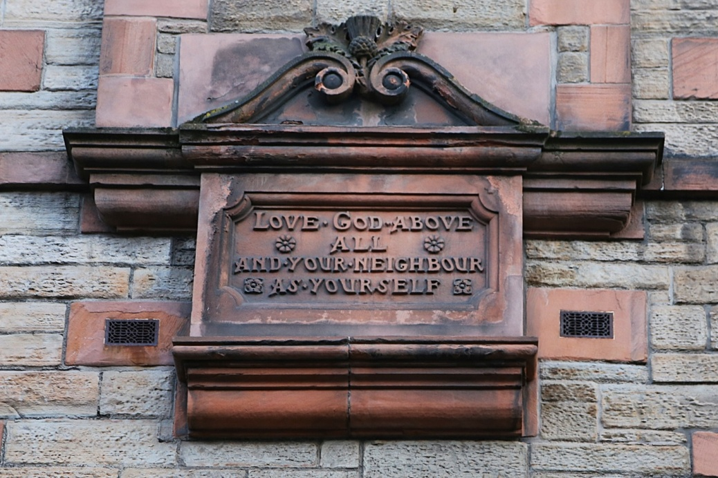 Edinburgh Love God Decoration