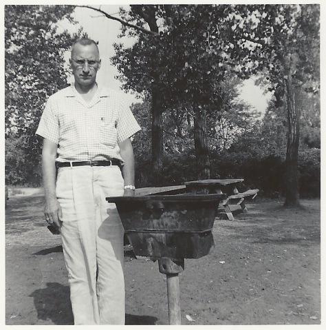 Grandpa V and the Grill