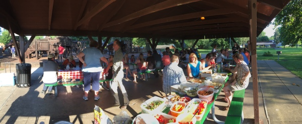 Union Street Players annual meeting and Potluck Picnic.