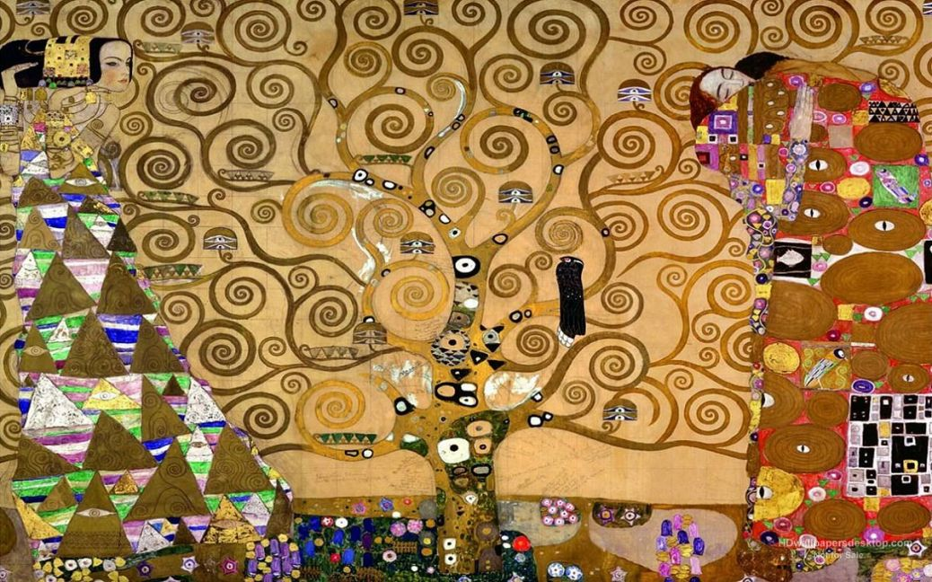 Klimt The-Tree-Of-Life