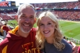 Dads Weekend at ISU with Megan