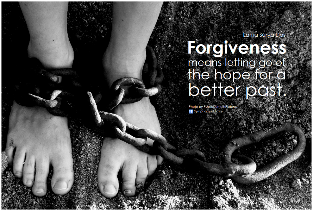 forgiveness letting go