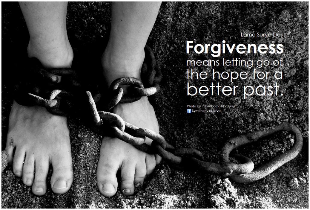 forgiveness letting go