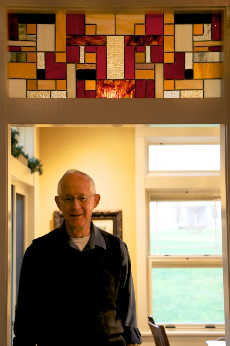Dad and his stained glass 058