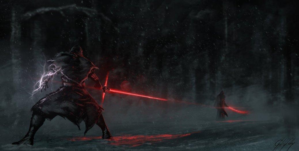 star wars saber duel