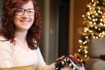 Socks! Socks in Suzanna's stocking!