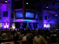 Christmas Eve service at Third Church