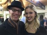 Ran into Megan at Christmas Eve services!