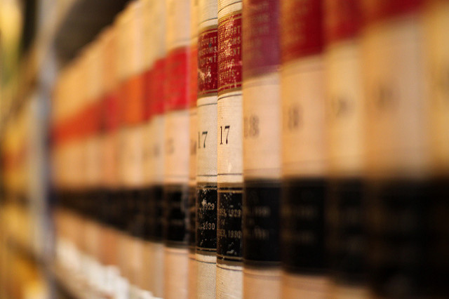 Volumes of Legal Code of Law