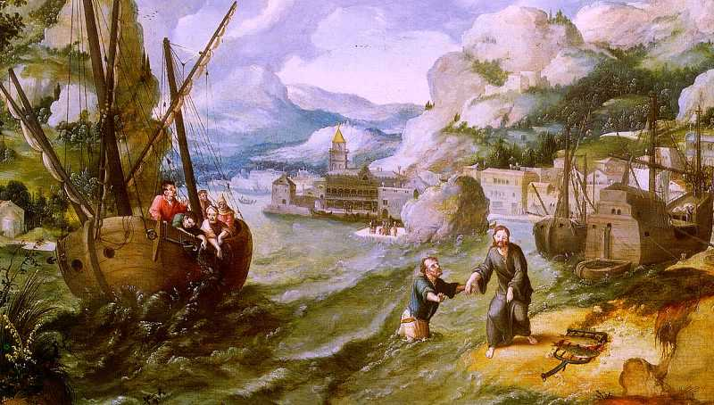 Lucas_Gassel_-_Christ_with_St._Peter_and_the_Disciples_on_the_Sea_of_Galilee