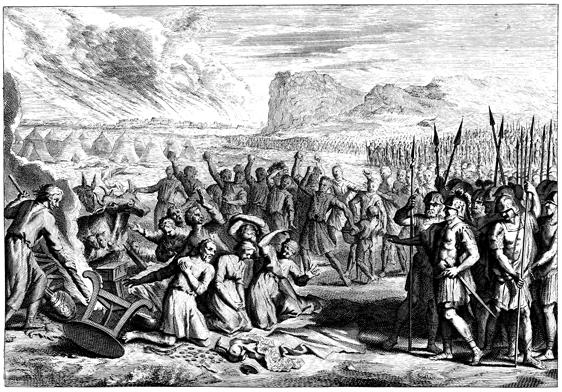 stoning of achan