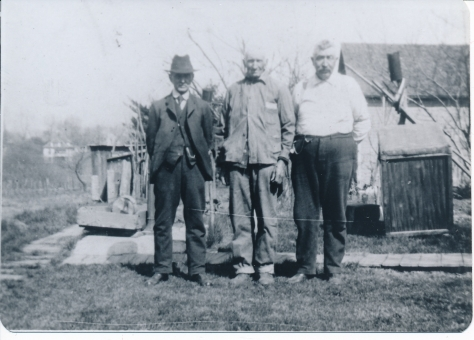 L-R David T. McCoy, Moses McCoy and Robert McCoy
