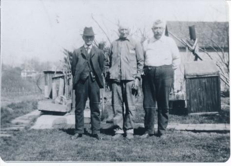 L-R David T. McCoy, Moses McCoy and Robert McCoy