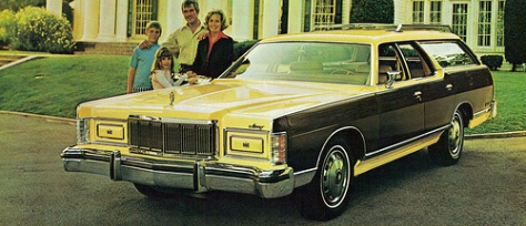 "Our ""Merc"" was a lot like this one from a 1973 ad."