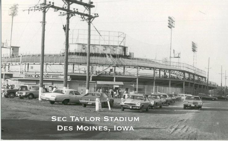 Sec Taylor Stadium 1970s