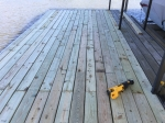 Look at that new decking!