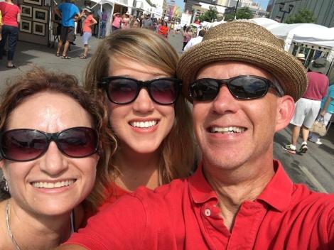 Fun in the sun at Art Fest!