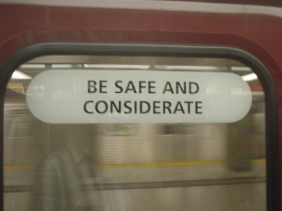 Safe and Considerate