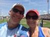 Tom and Wendy at Principal Park.