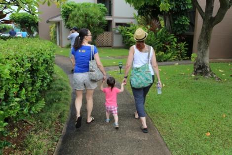 Off to our Kauai orientation.