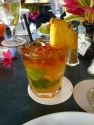 An amazing Gaylord's Mai Tai with fresh fruit from the plantation.