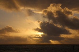 Another gorgeous Kauai sunrise.