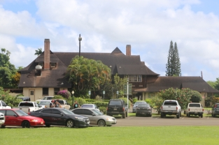 The Kilohana plantation house is now a restaurant. It's where we ate brunch on Sunday morning.