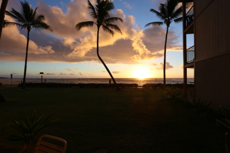 Another Kauai sunrise...